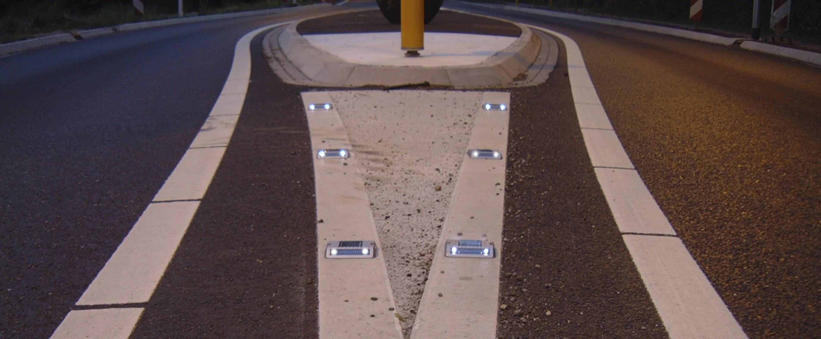 Balisage de sécurité solaire LED ECO-118 Eco-Innov