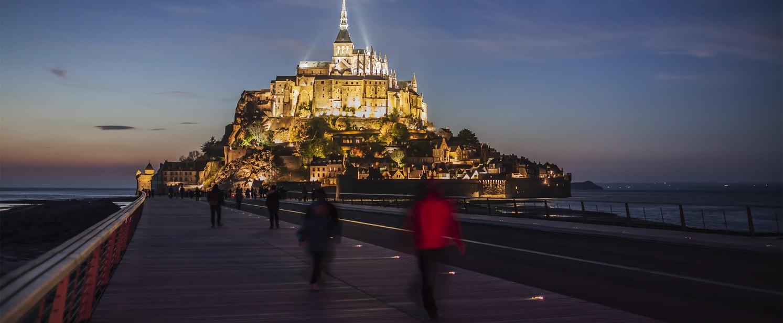 Passerelle du Mont-Saint-Michel