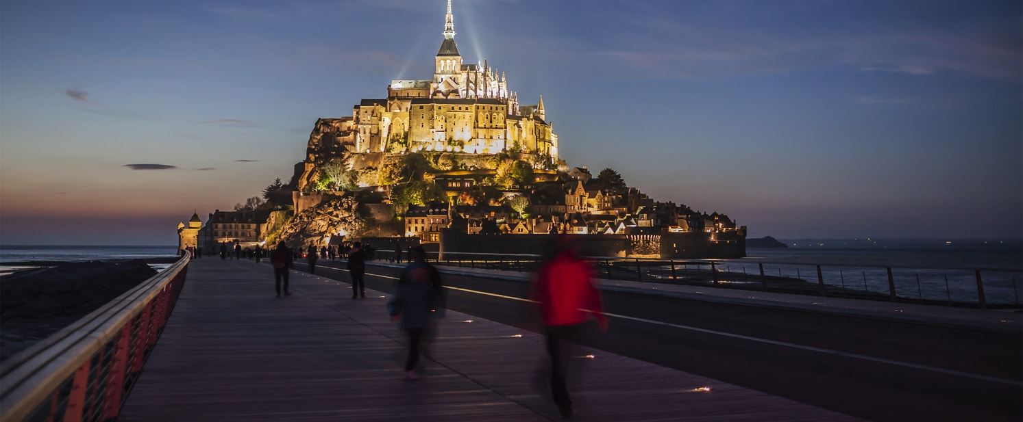 Mont-Saint-Michel Bridge