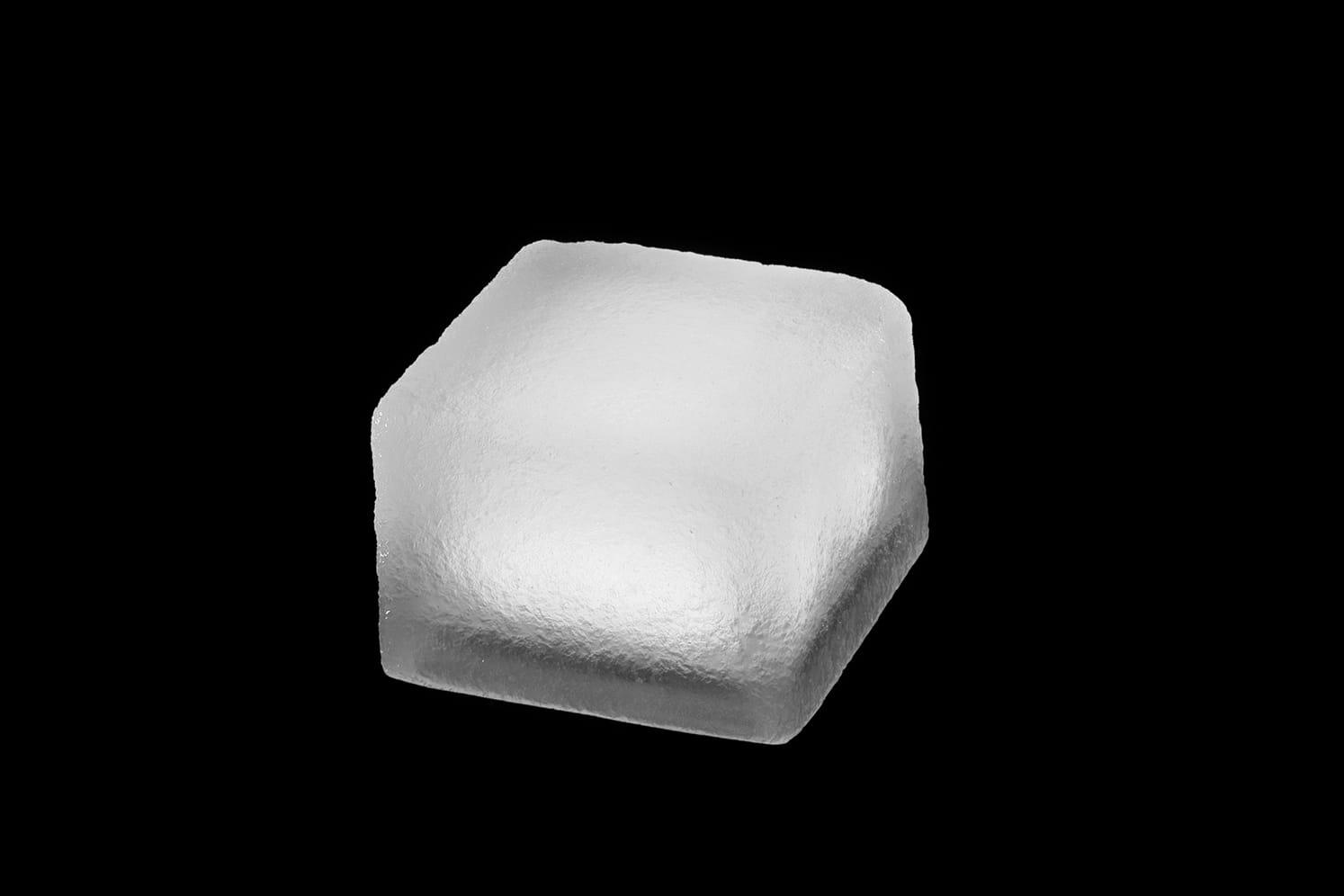 Pavé lumineux multicolore carré 100x100 : ECO-STONE99 blanc