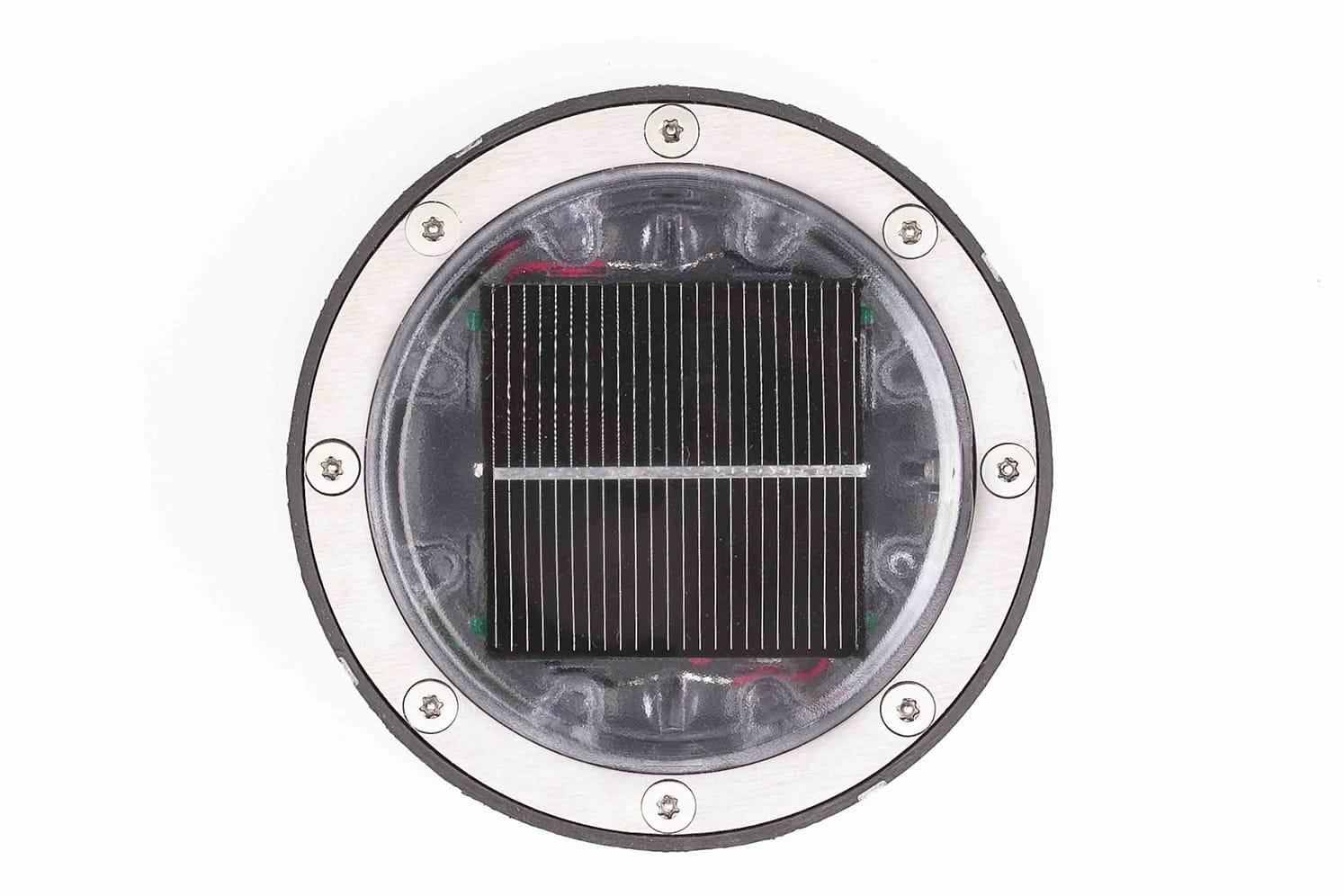 Plot lumineux solaire pour piétons, vélos, PMR ECO-128