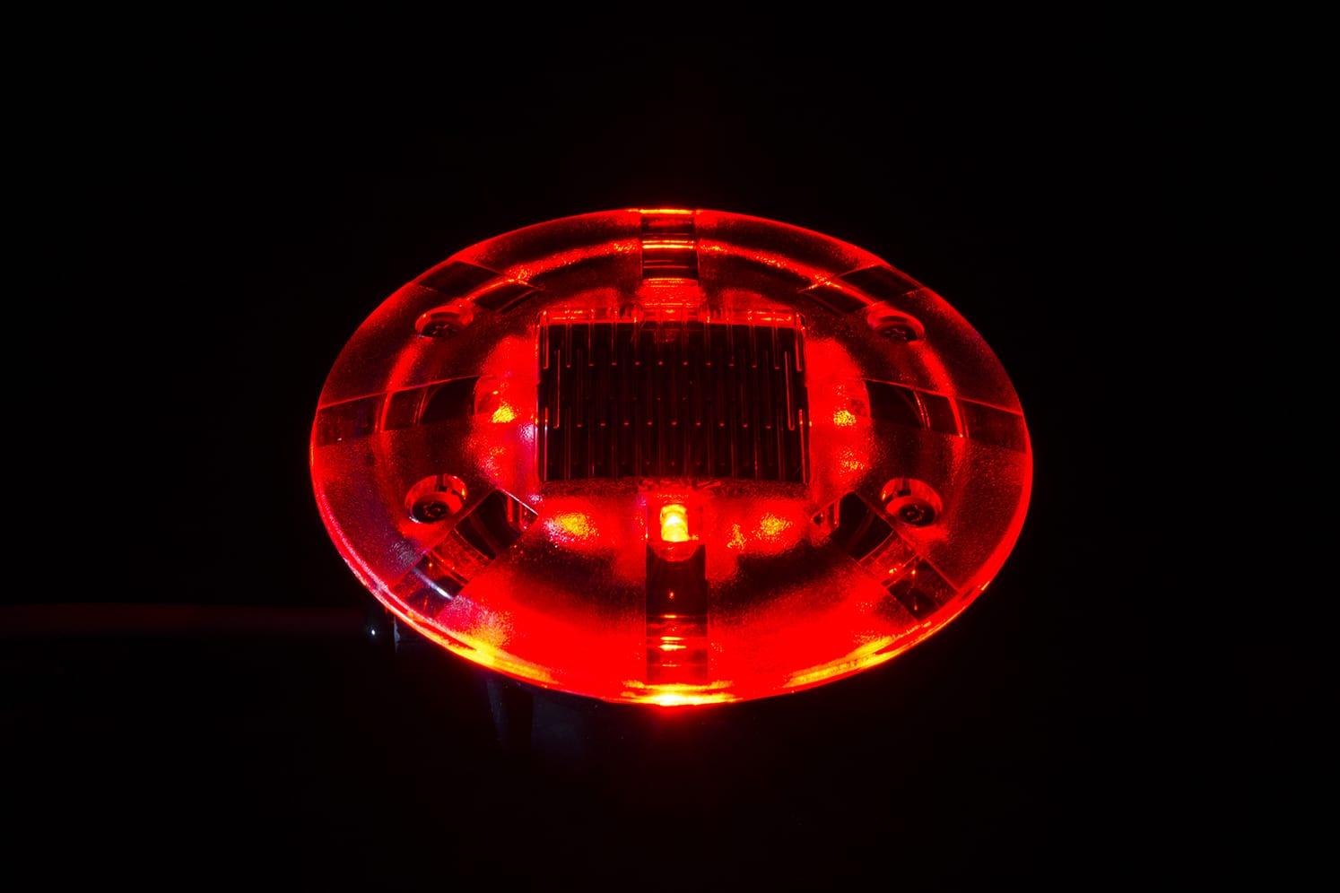 Plot lumineux Architecture et Urbanisme ECO-835 rouge