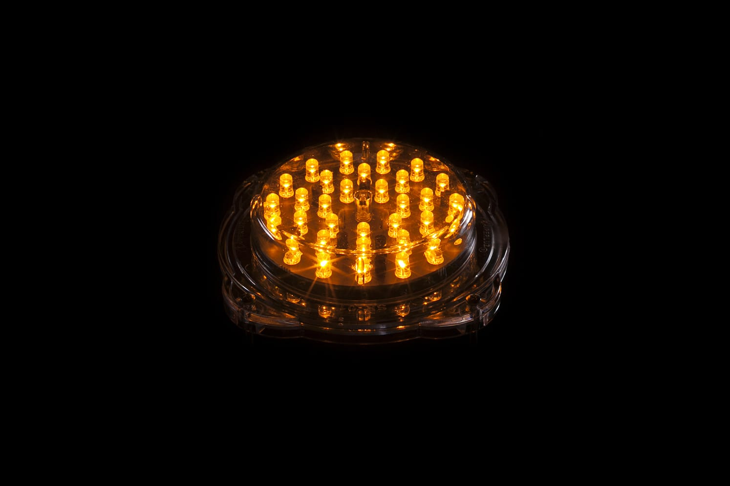 Signalisation LED verticale balise basse tension ECO-801 32 LED ambre