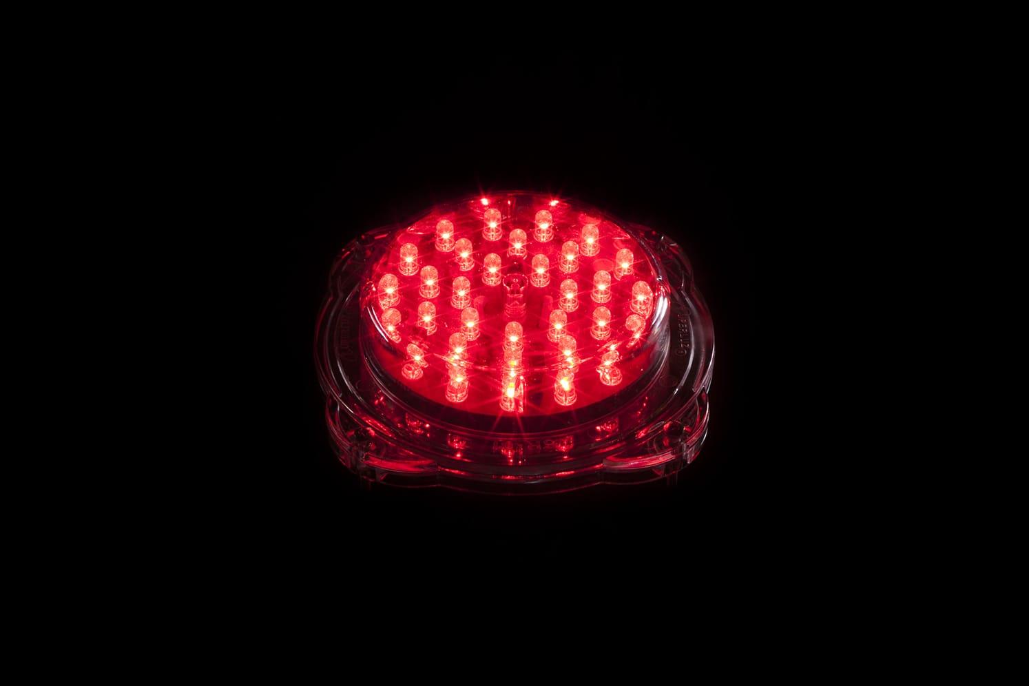 Signalisation LED verticale balise basse tension ECO-801 32 LED rouge