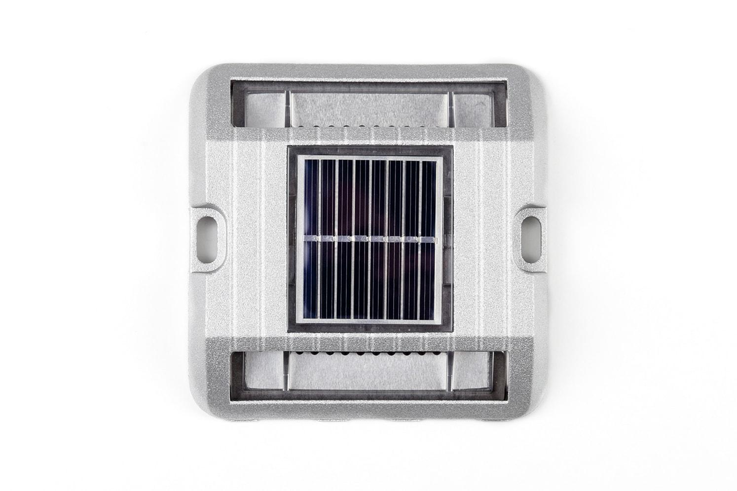 Balise solaire de sécurité pour bordure, îlot, giratoire ECO-118