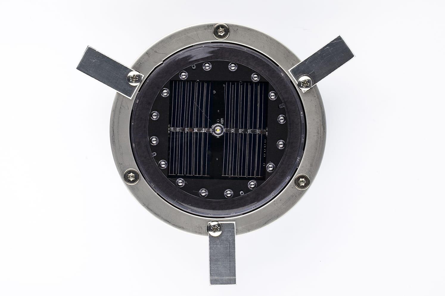 Plot solaire piste cyclable ECO-120 ailettes