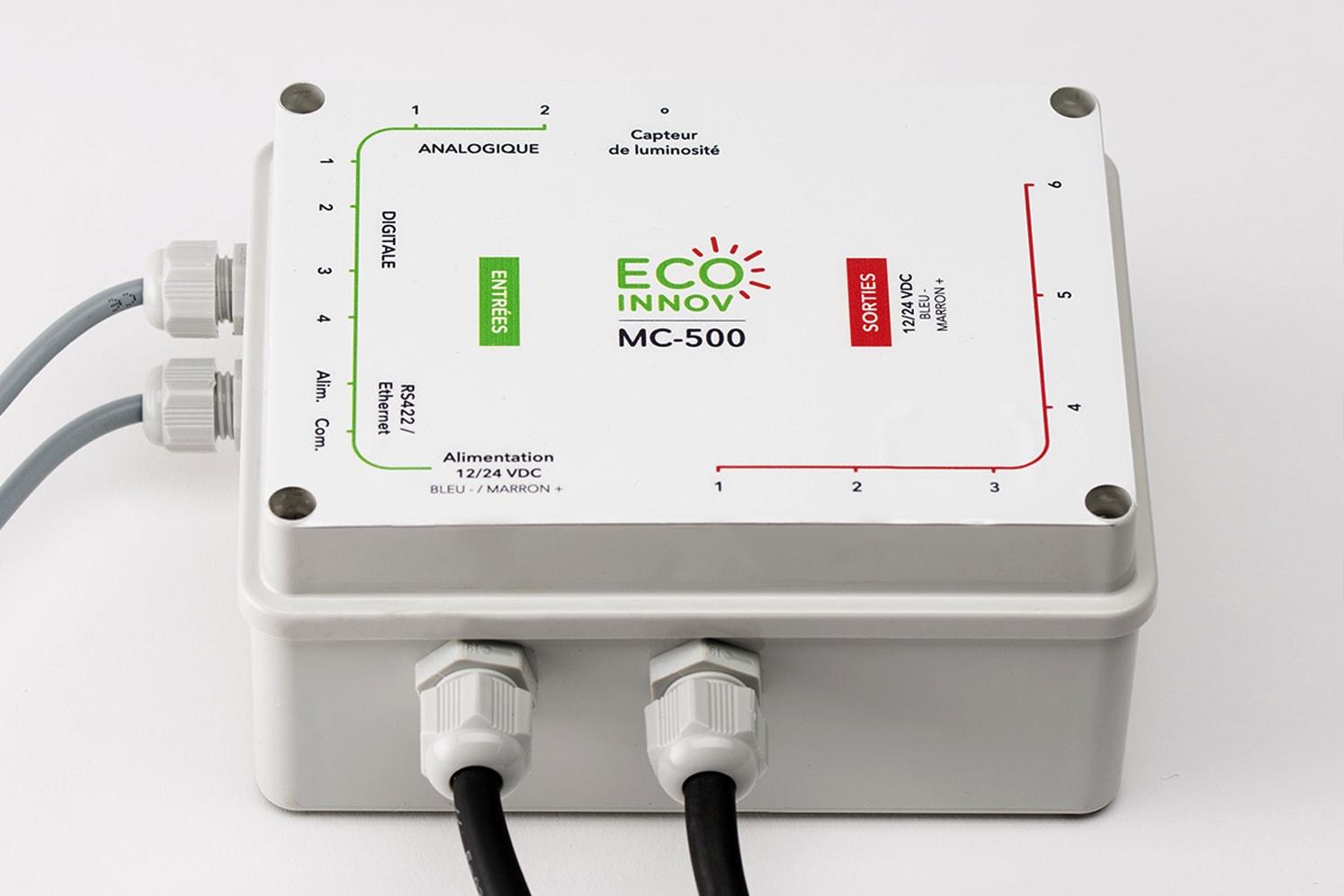 Contrôleur LED plots câblés très basse tension Eco-Innov MC-500
