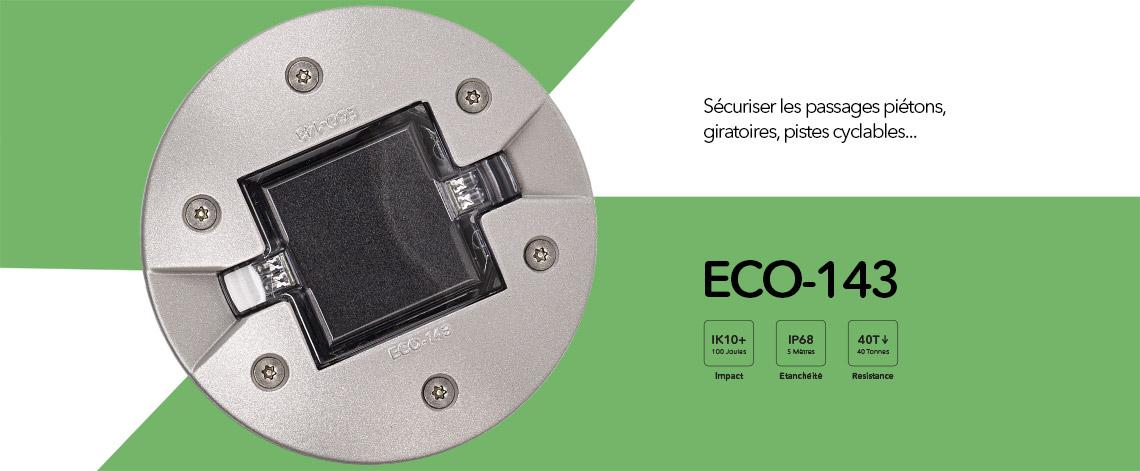Plot solaire LED pour Architecture et Urbanisme, ECO-143